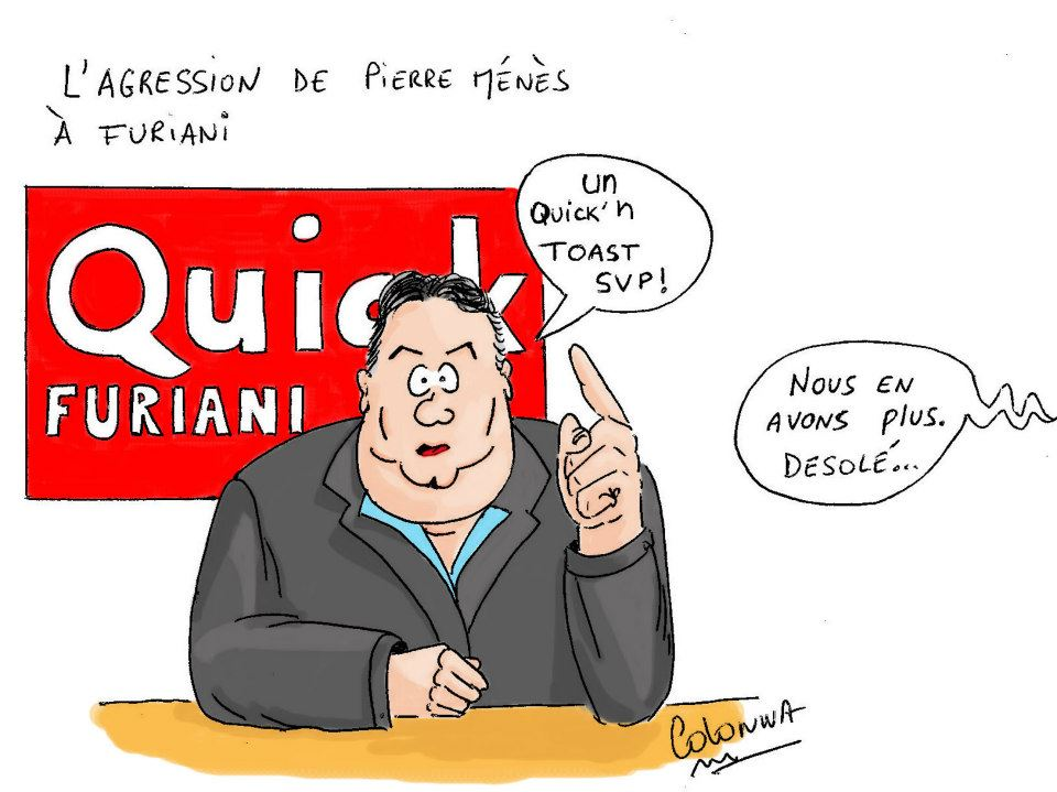 Agression de Pierre Ménès à Furiani