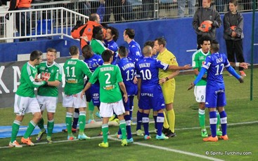Photos SC Bastia - Saint-Etienne 2013/2014.