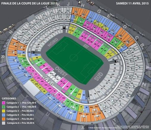 Bastia psg ouverture de la billetterie ce mardi - Stade de france coupe de la ligue ...