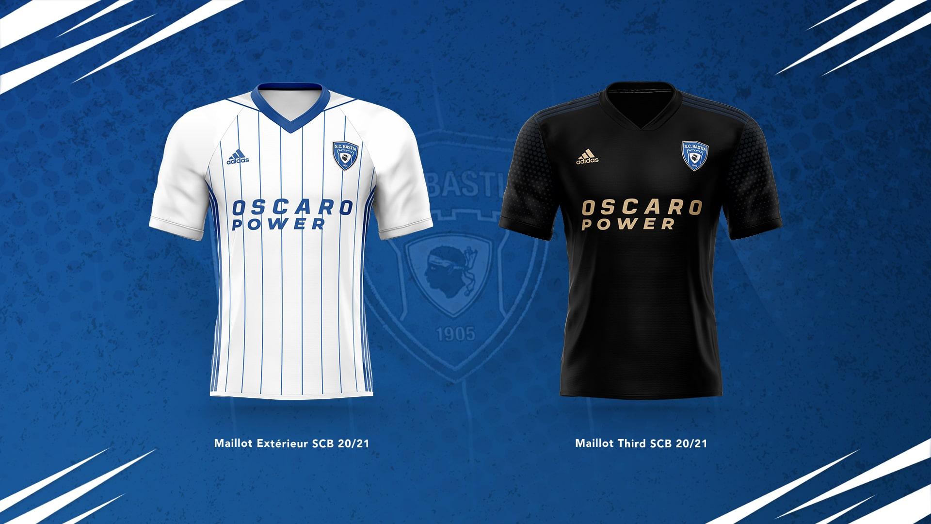 Le SC Bastia dévoile les maillots de la saison 20202021
